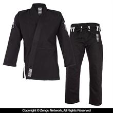 Do or Die HyperLyte Black BJJ Gi - White...